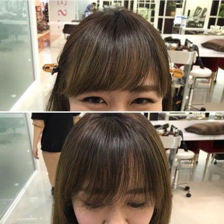 前髪修正カット